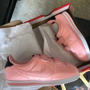 New Girls Nike Cortez Pink SIZE 1Y